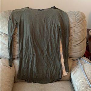 Olive Sweater Dress